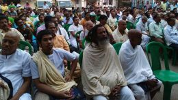 A section of the people invited to the meeting by Nabadweep Municipality. Picture by Samir Saha