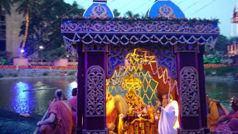 Chandan Yatra festival begins at Iskcon Mayapur