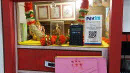The digital systems for haal khata deposits at a shop in Ranaghat. Picture by Tito Chakraborty