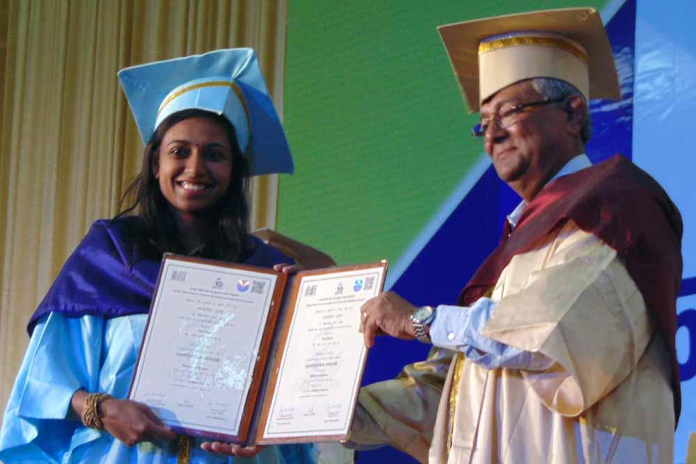IISER Kolkata Director Professor RN Mukherjee at 5th Convocation