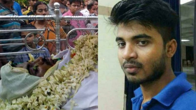 IISER-Kolkata student Sagar in his last ride (Sagar's file picture) Picture by Sovan Chaudhuri