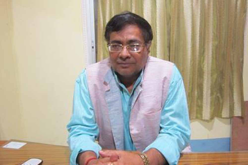 State correctional services minister Ujjwal Biswas
