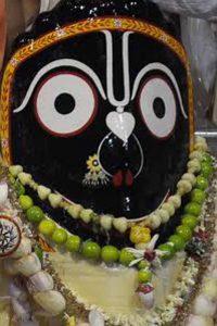 The Lord Jagannath at Iskcon
