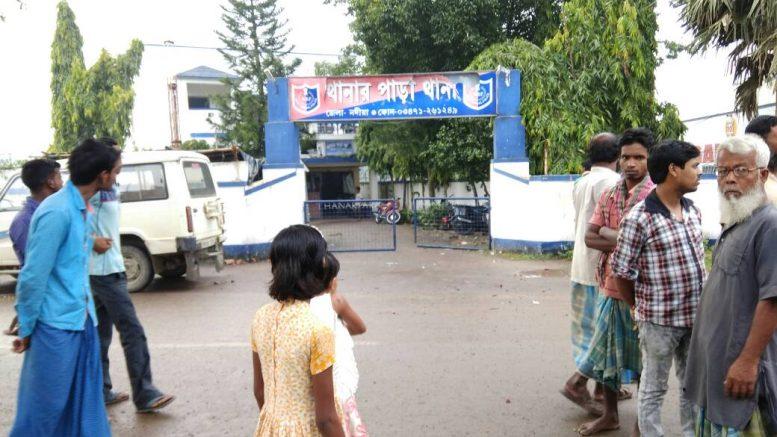 Thanarpara PS after violence