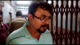 Fake doctor Bapi Nath being produced before ACJM court in Ranaghat on Monday