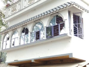 Rented house of the OC damaged due to stone pelting