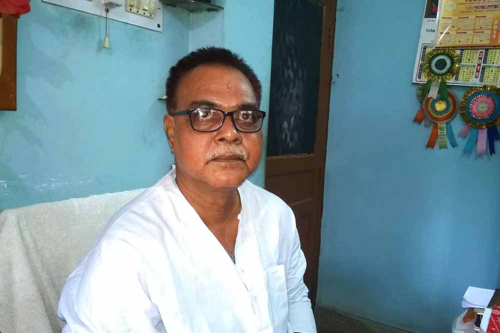Lawyer Savendu Chatterjee at home (File Picture)