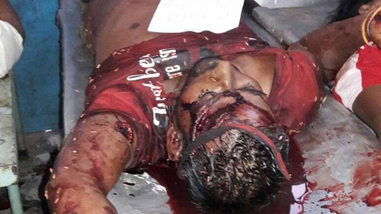 Victim Santosh Biswas (26)