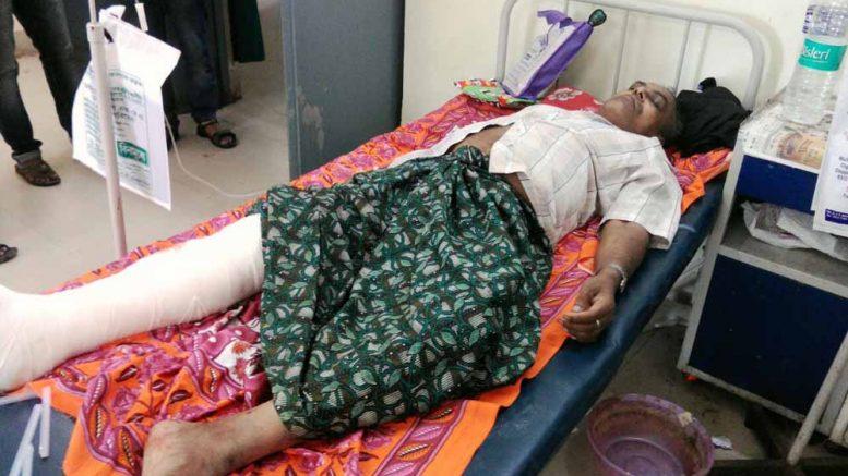 Harendra Nath Biswas at JNM Hospital in Kalyani