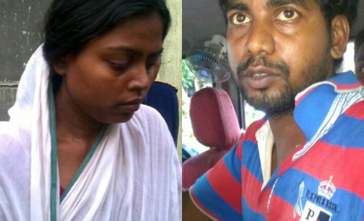 Ashima Biswas and Debasish Oraon