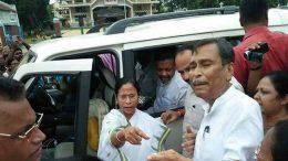 Mamata Banerjee with Gourisankar Dutta