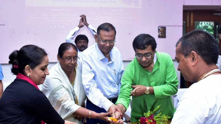Minister Ujjwal Biswas inaugurating the portal