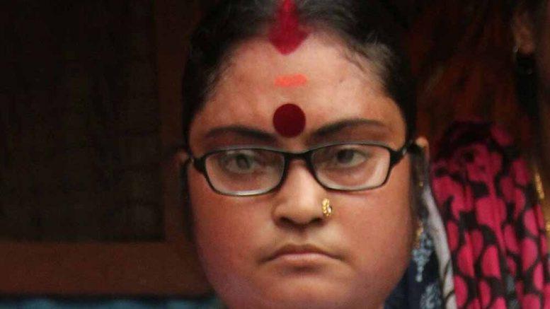 Deceased Independent candidate Supriya De
