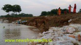 Fresh erosion in Sarati village of Chakdaha