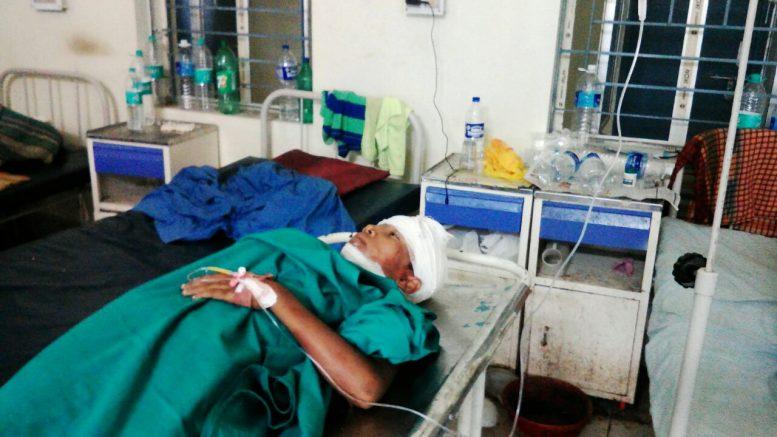Suraj Mandal at JNM Hospital