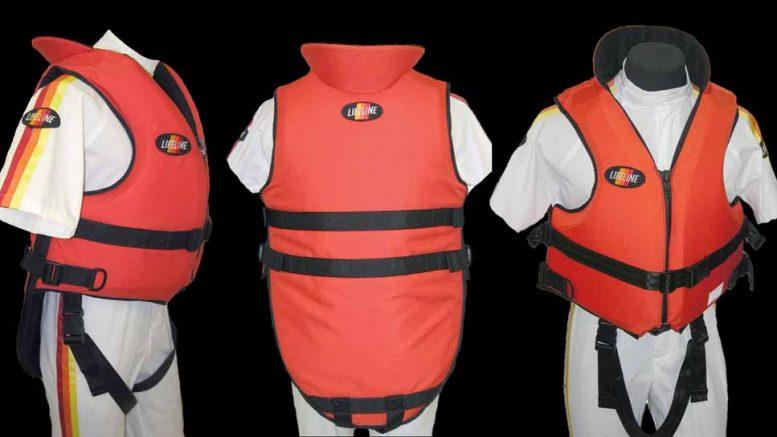 Life saving jackets for boats