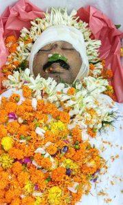 Body of Deepak Kumar Mandal