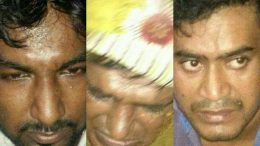 The three snatchers arrested by Ranaghat police