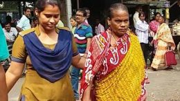 Maya Mir being produced to court in Ranaghat
