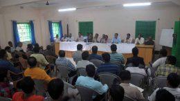 Traders from Bangladesh and India met in Krishnaganj