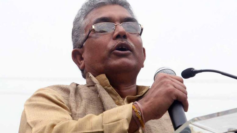 BJP Bengal President Dilip Ghosh