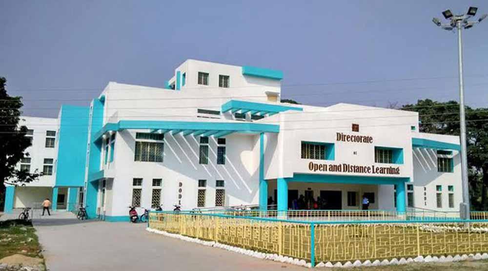 Kalyani University Distance Learning Department Building