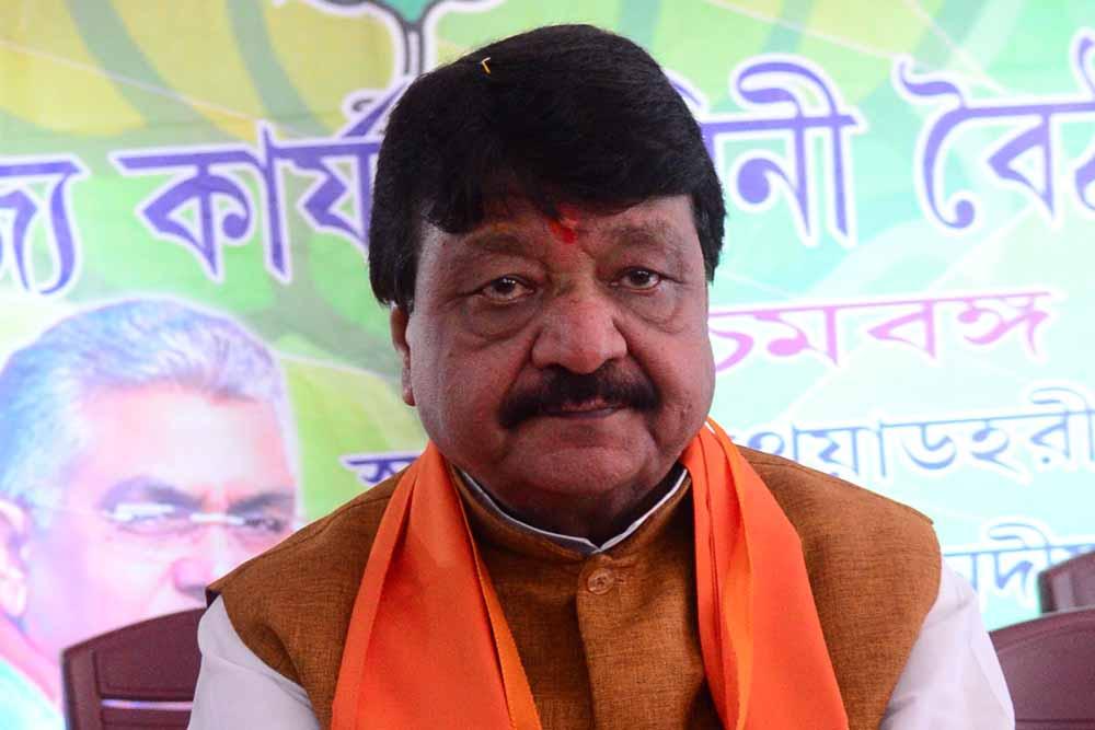Kailash Vijabargiya in Bethuadahari