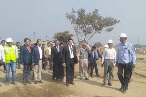 Health Department's Principal Secretary Anil Verma at AIIMS Project Site in Kalyani's Basantapur