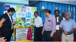 Adonorc being launched at a programme in Madhyamgram