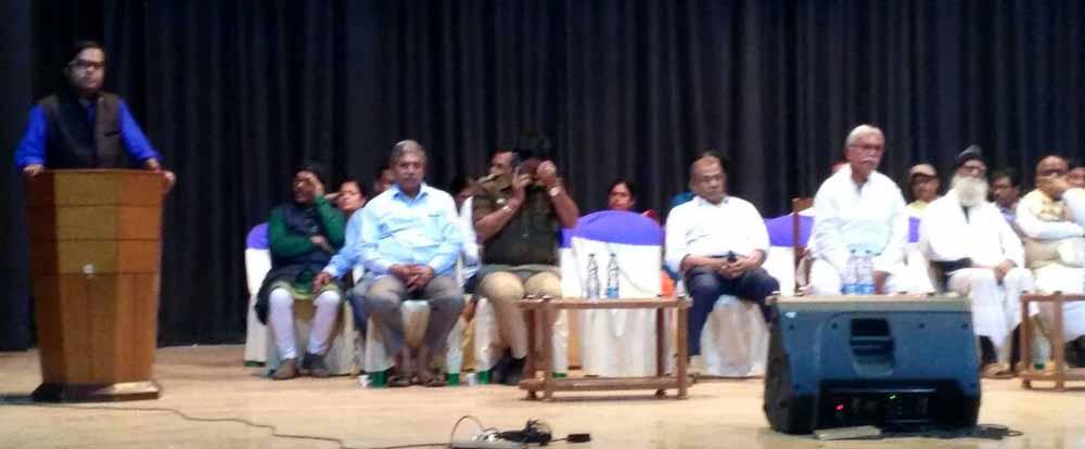Mass meeting at Rabindra Sanskriti Manch in Nabadweep