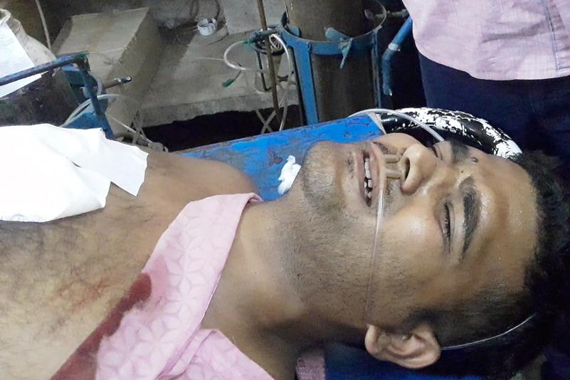 Sankar Kundu at the hospital