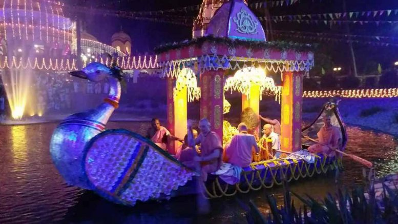 Chandana Yatra Festival Begins At Iskcon In Mayapur