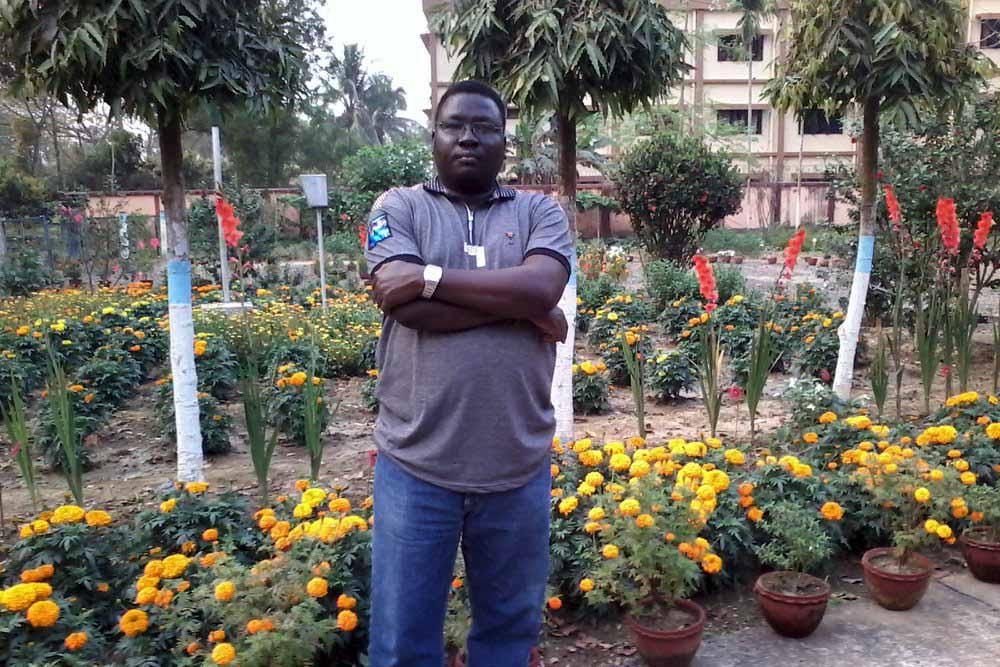 Researcher from Sudan Martin Lolia