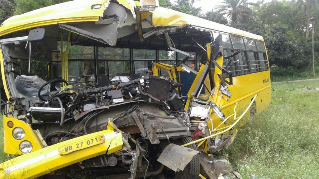 The fateful bus on Sunday morning.