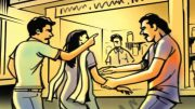 Eve teasing protest