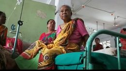 Radha Banerjee, who was beaten up by female attendant