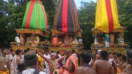 Lord Jagannath Rath Yatra in Mayapur