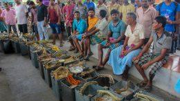 Milkmen gheraoed by local residents at Santipur rail station