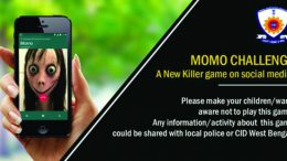 Momo challenge Awareness message by CID West Bengal