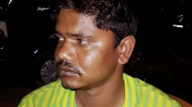Assaulted Trinamul Congress councillor Amit Rai on Sunday night.