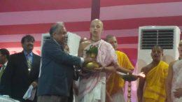 Chief Justice of Calcutta High Court Jyotirmay Bhattacharya inaugurating the new court building in Tehatta