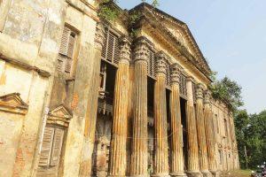 Poet Jatindramohan Bagchi's ancestral house