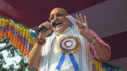 Union minister Giriraj Singh speaking in Krishnaganj