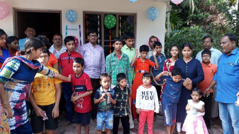 Special children and parents at a programme in Kalyani on World Disability Day