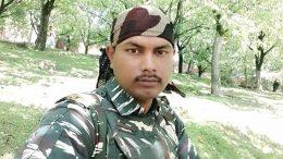 Martyred CRPF constable Sudip Biswas