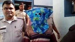 Abhijit Pundari being taken to ACJM court in Ranaghat