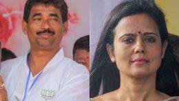 Mahadev Sarkar (BJP) and Mahua Moitra (Trinamul)
