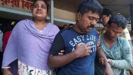 A patient sent back from emergency department at College of Medicine and JNM Hospital in Kalyani on Thursday
