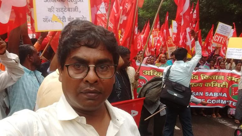 Samarendra Ghosh (Picture from his Facebook Page)