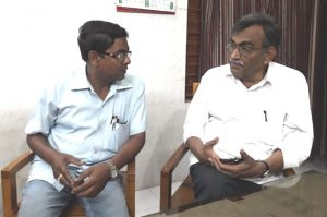 Samarendra Ghosh with Surjakanta Mishra